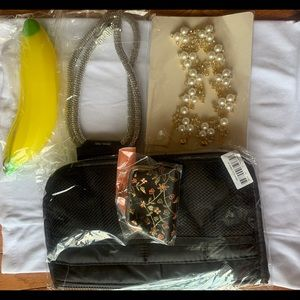 Jewelry bundles travel kit purse pouch